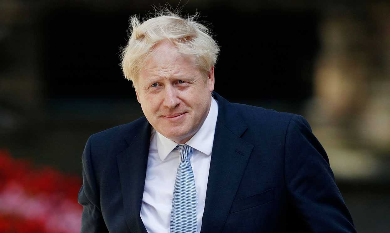 Boris Johnson Leader