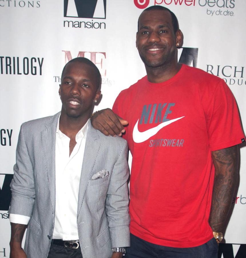 LeBron James's Agent, Rich Paul