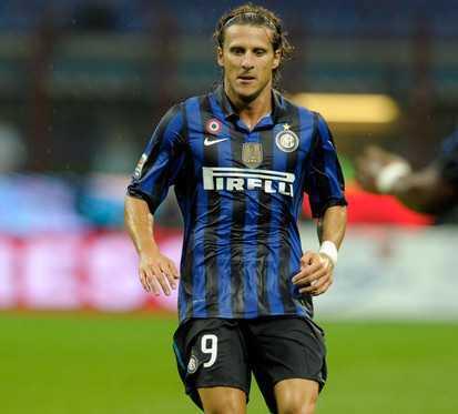 Diego Forlan Inter Milan