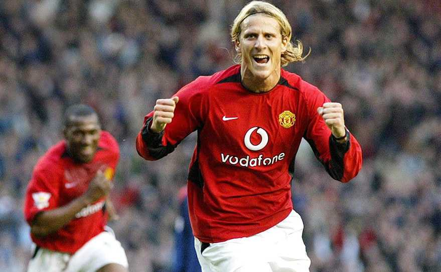 Diego Forlan Man United