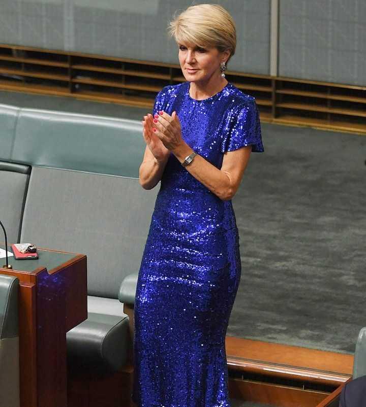 Julie Bishop Minister