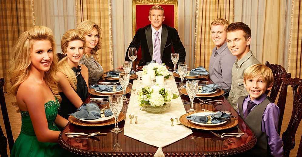 Chase Chrisley family
