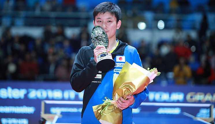 Tomokazu Harimoto Championships