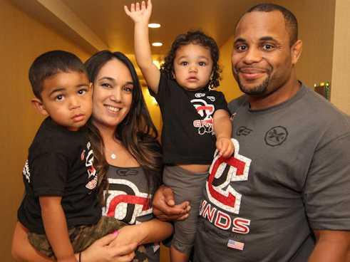 Daniel Cormier Family