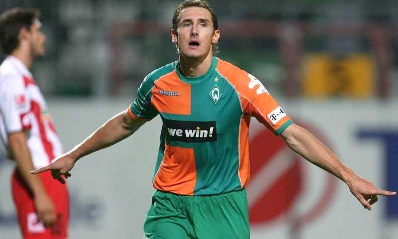 Miroslav Klose Werder Bremen