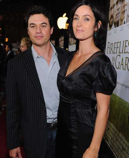Carrie-Anne Moss Husband