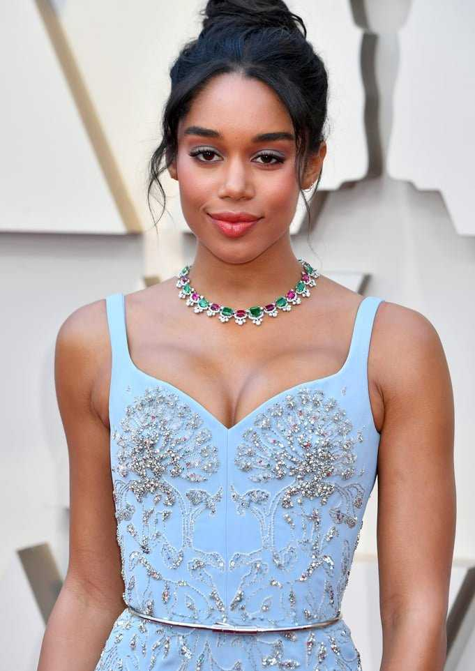 Laura Harrier Famous For