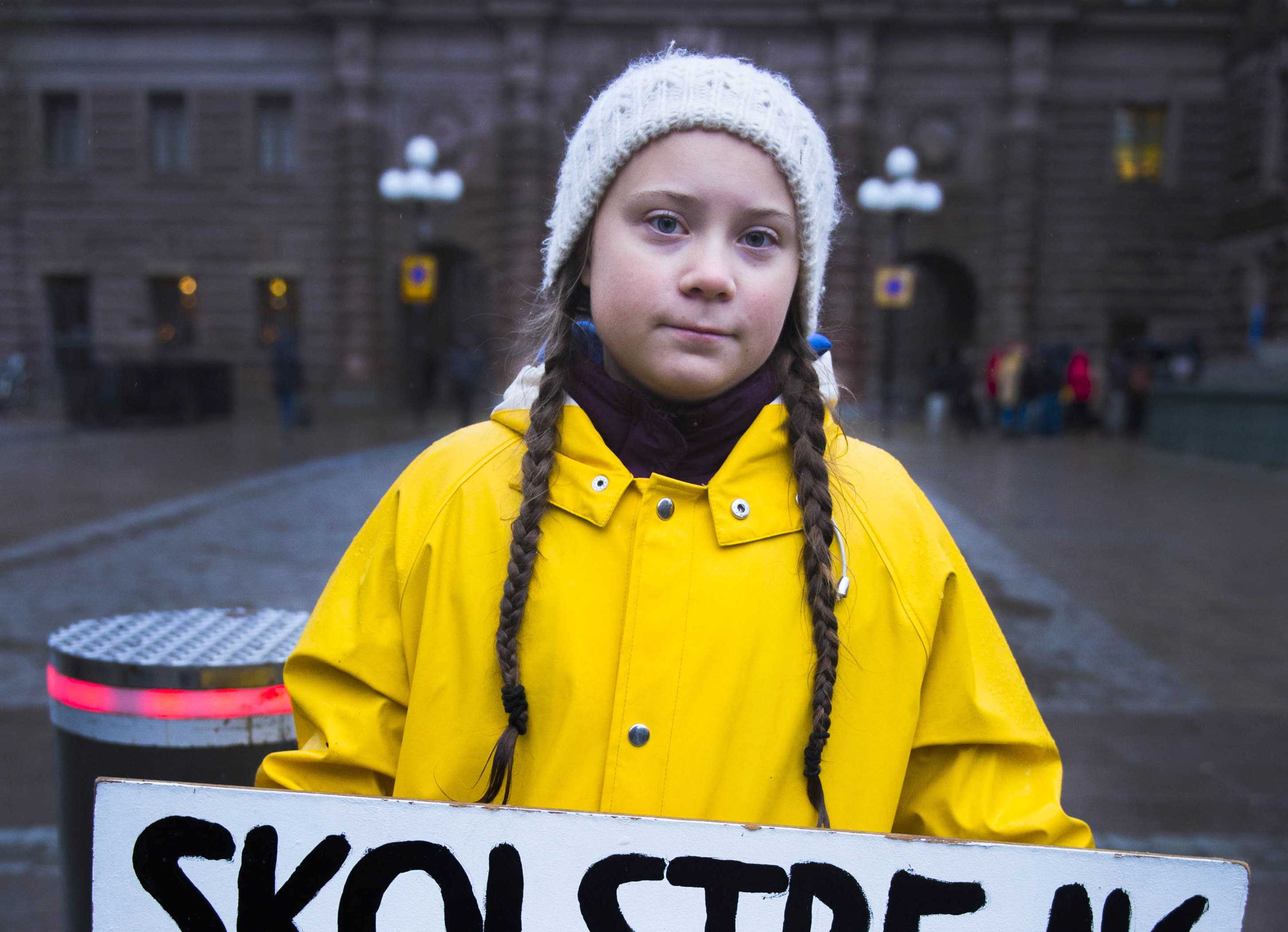Greta thunberg Student