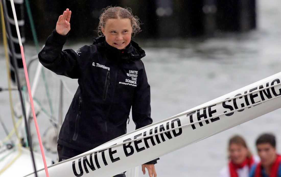 Greta thunberg UN
