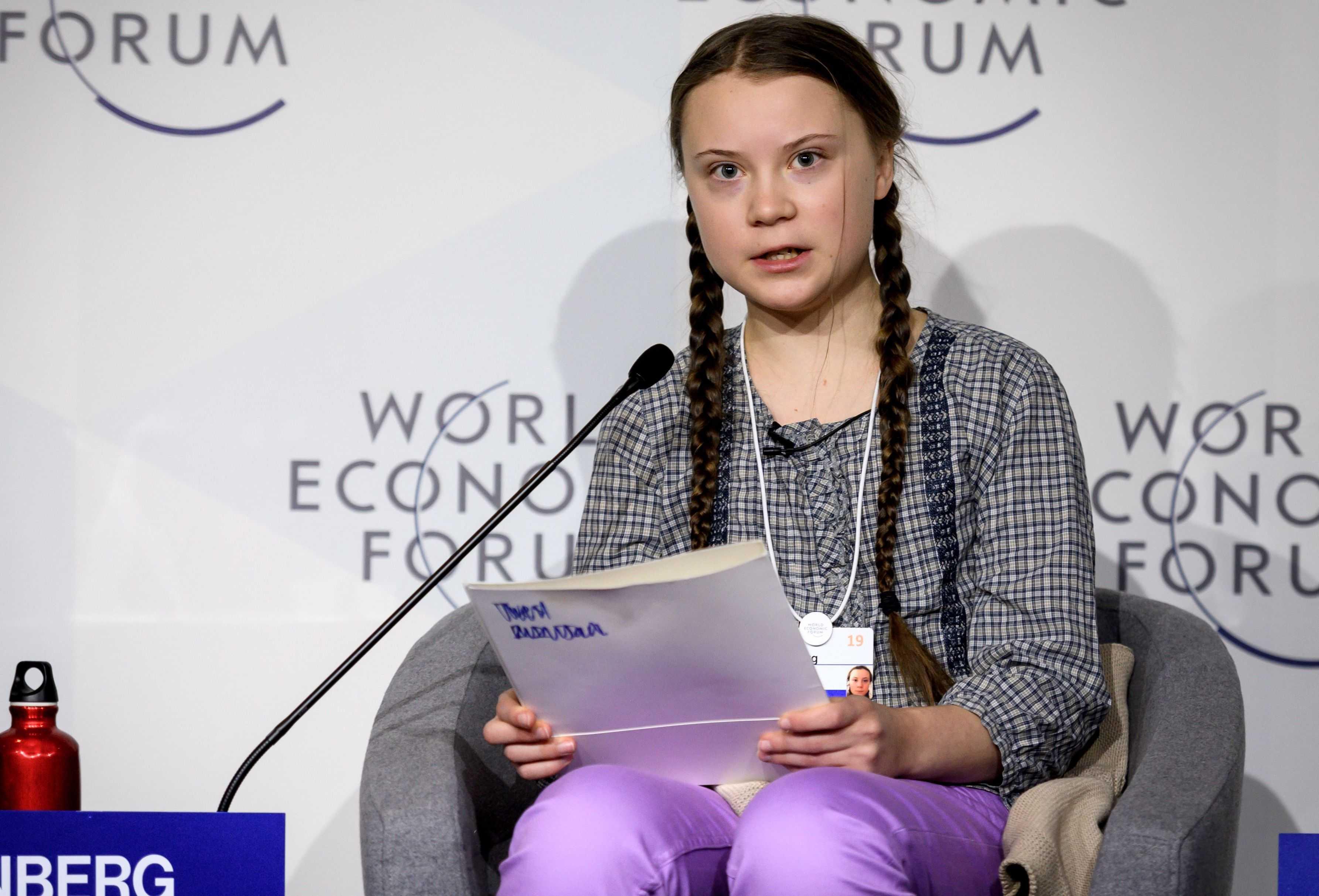 Greta thunberg Speeches