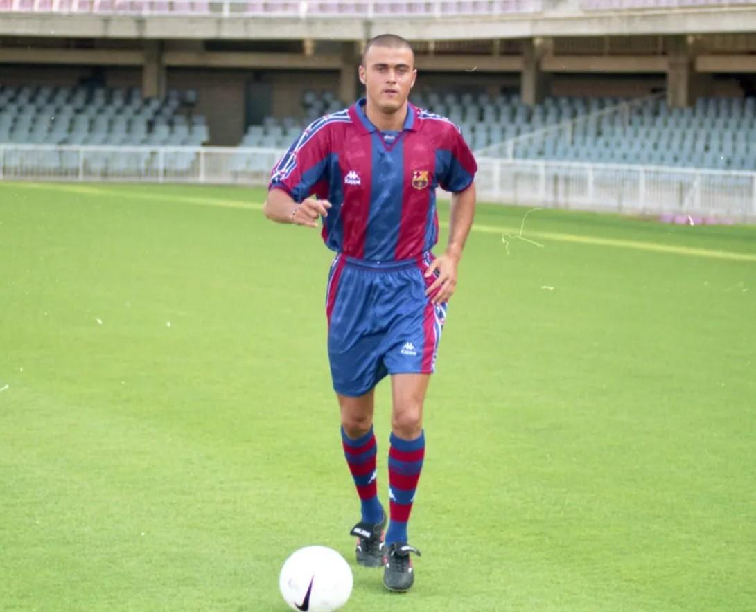 Luis Enrique Barcelona Player