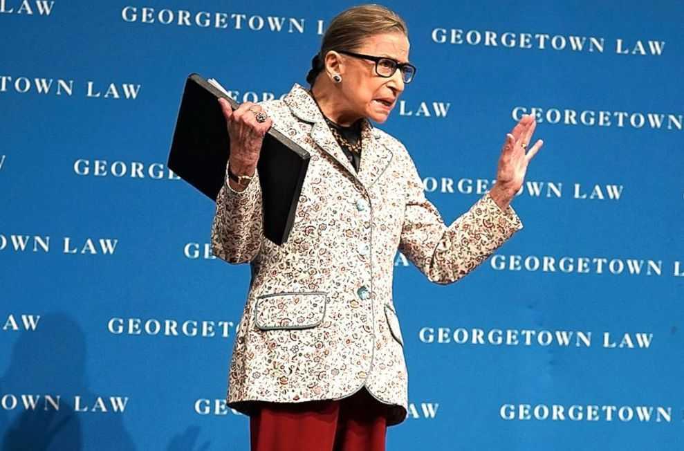 Ruth Bader Ginsburg Health