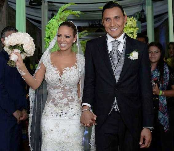 Keylor Navas Wedding