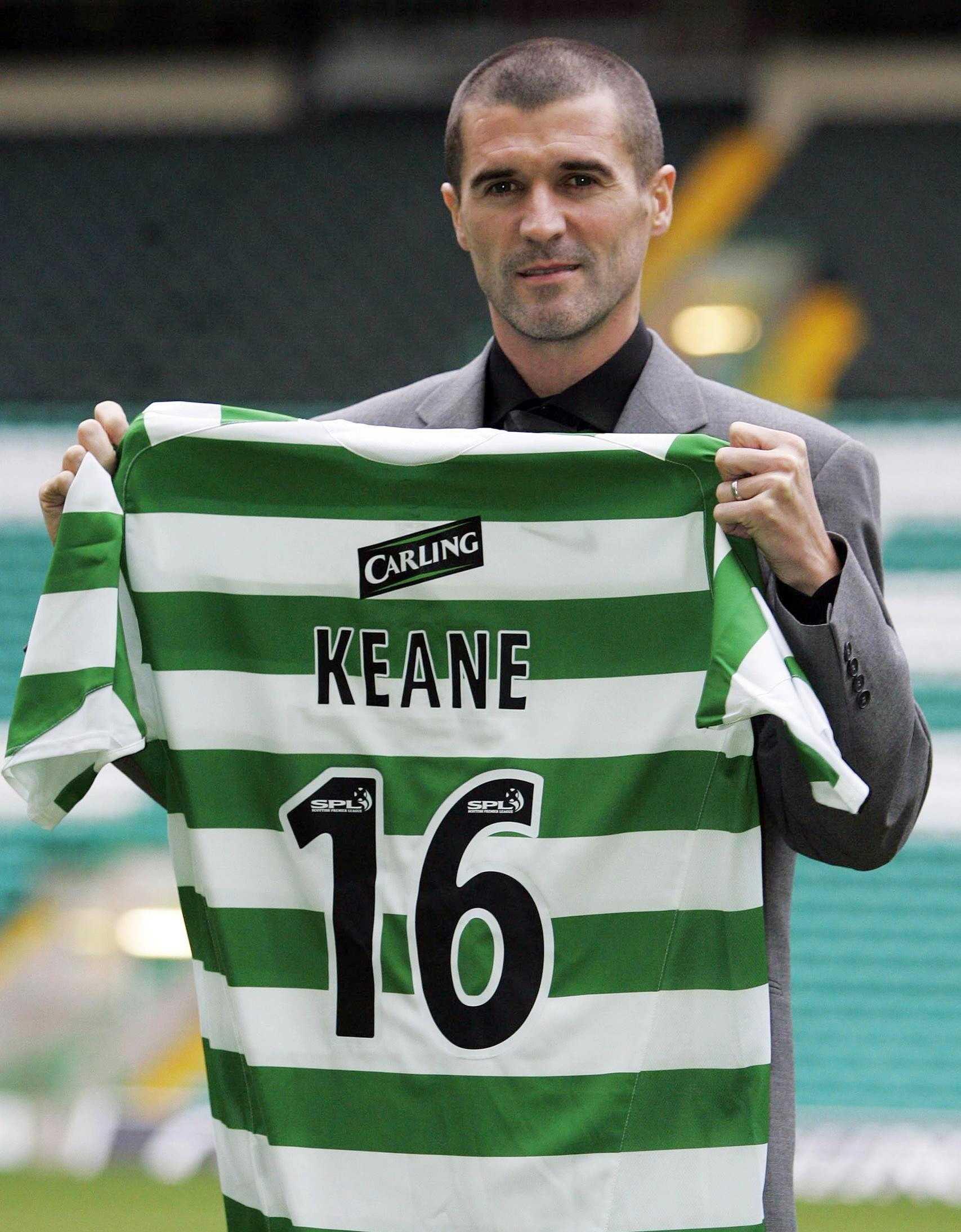 Roy Keane Celtic