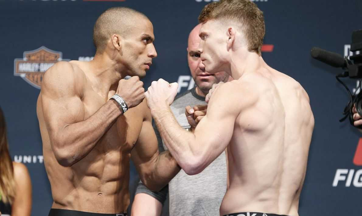 Paul Felder Fight