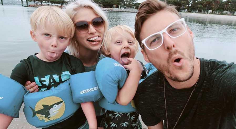Jarrid Wilson Family