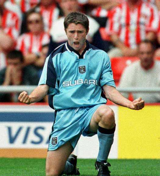 Robbie Keane Coventry City