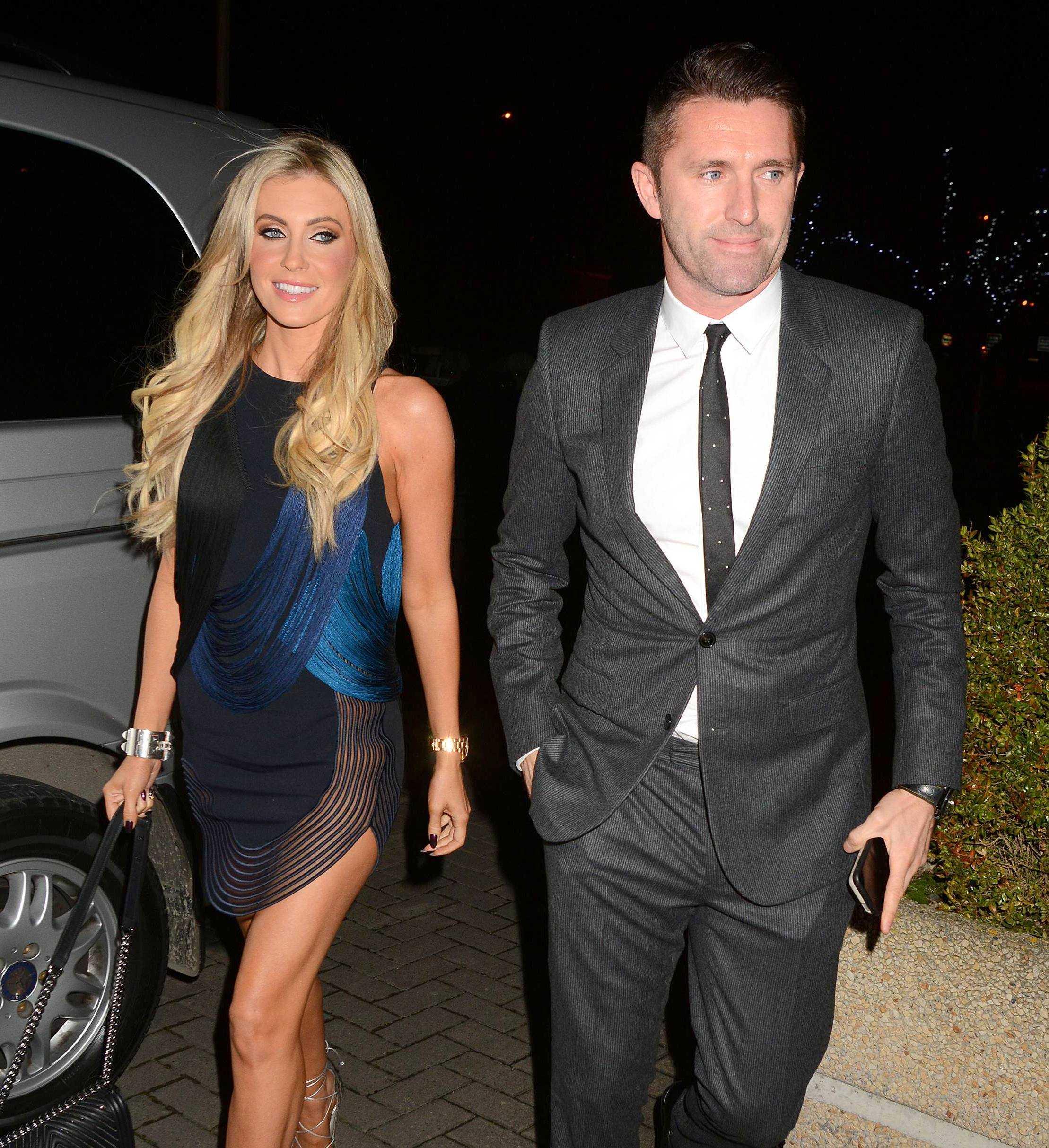 Robbie Keane wife