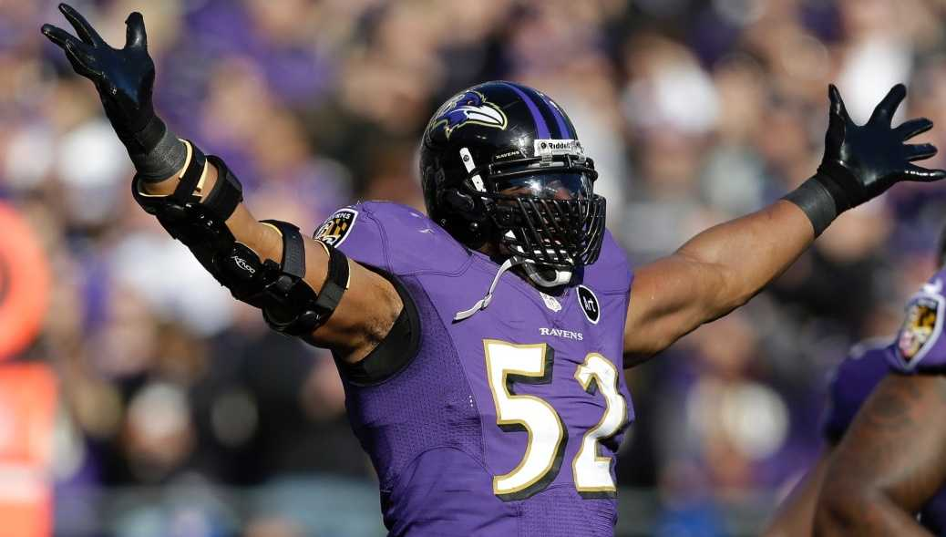 Ray Lewis Stats