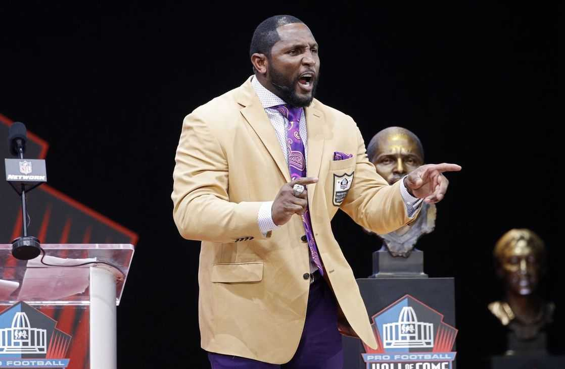 Ray Lewis Honor