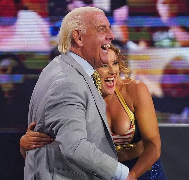 Lacey Evans Ric Flair
