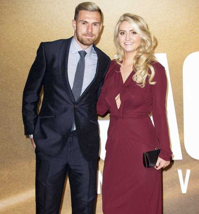 Aaron Ramsey Wife