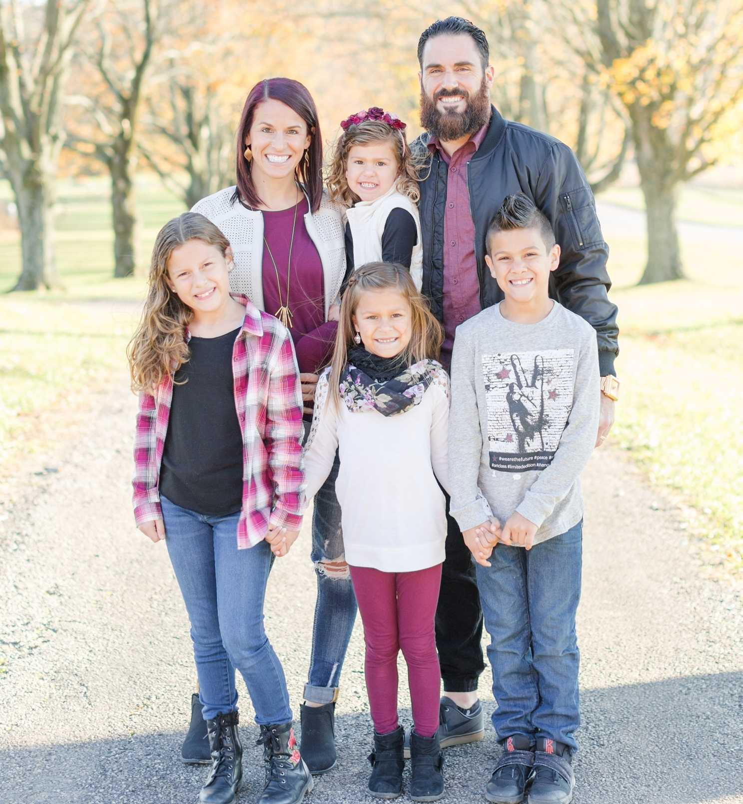 Eric Weddle family