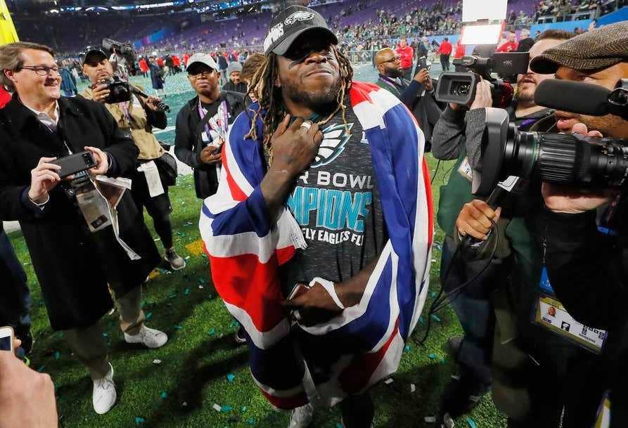 Jay Ajayi Super Bowl
