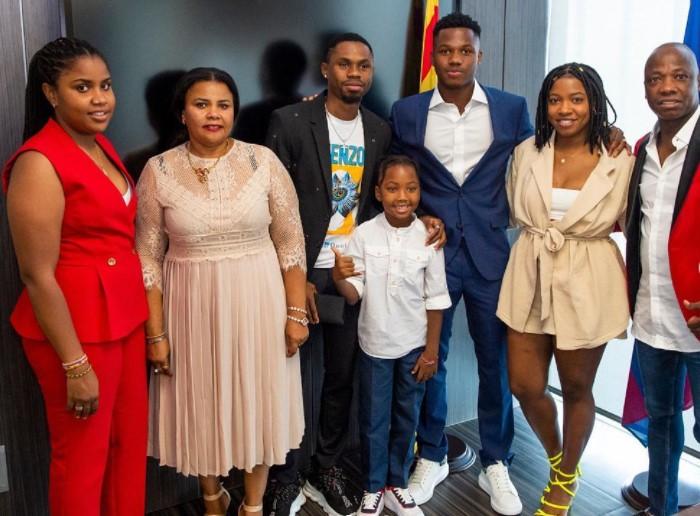 Ansu Fati family