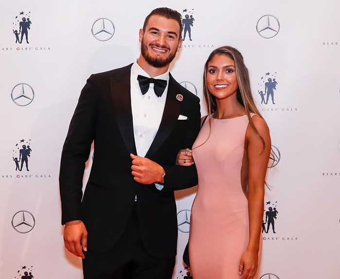 Mitch Trubisky Girlfriend