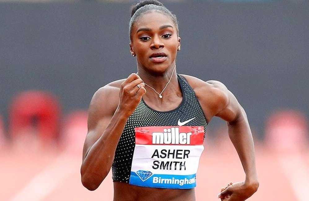 Dina Asher-Smith Sprinter