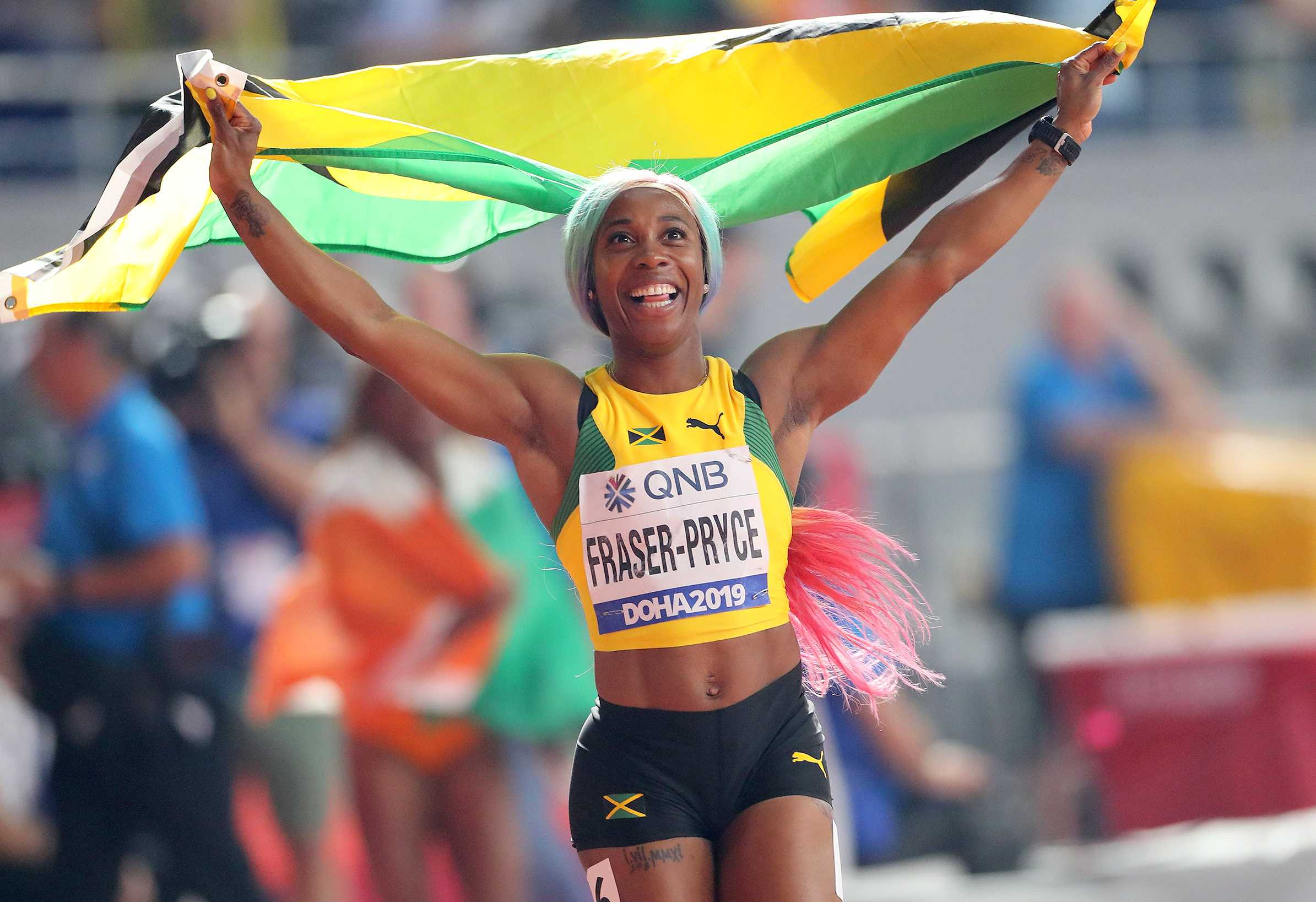 Shelly-Ann Fraser-Pryce Career