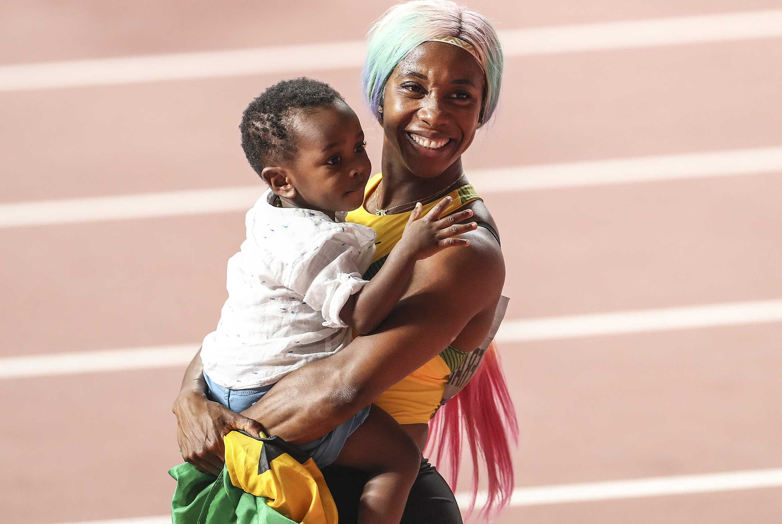 Shelly-Ann Fraser-Pryce Family