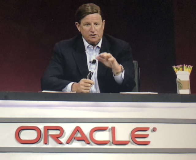 CEO of Oracle Mark Hurd