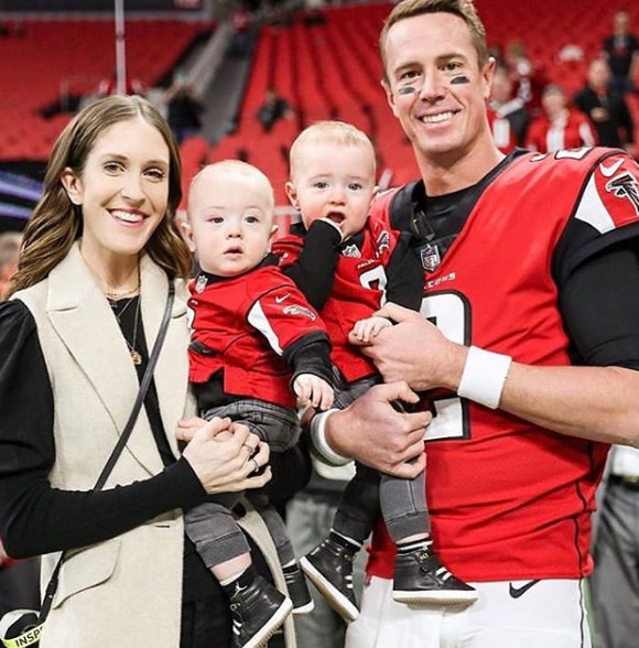 Matt Ryan and his Family