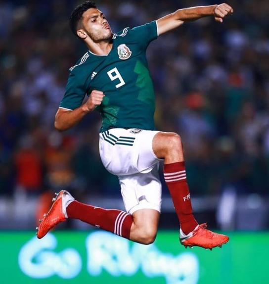 Raul Jimenez Celebrating