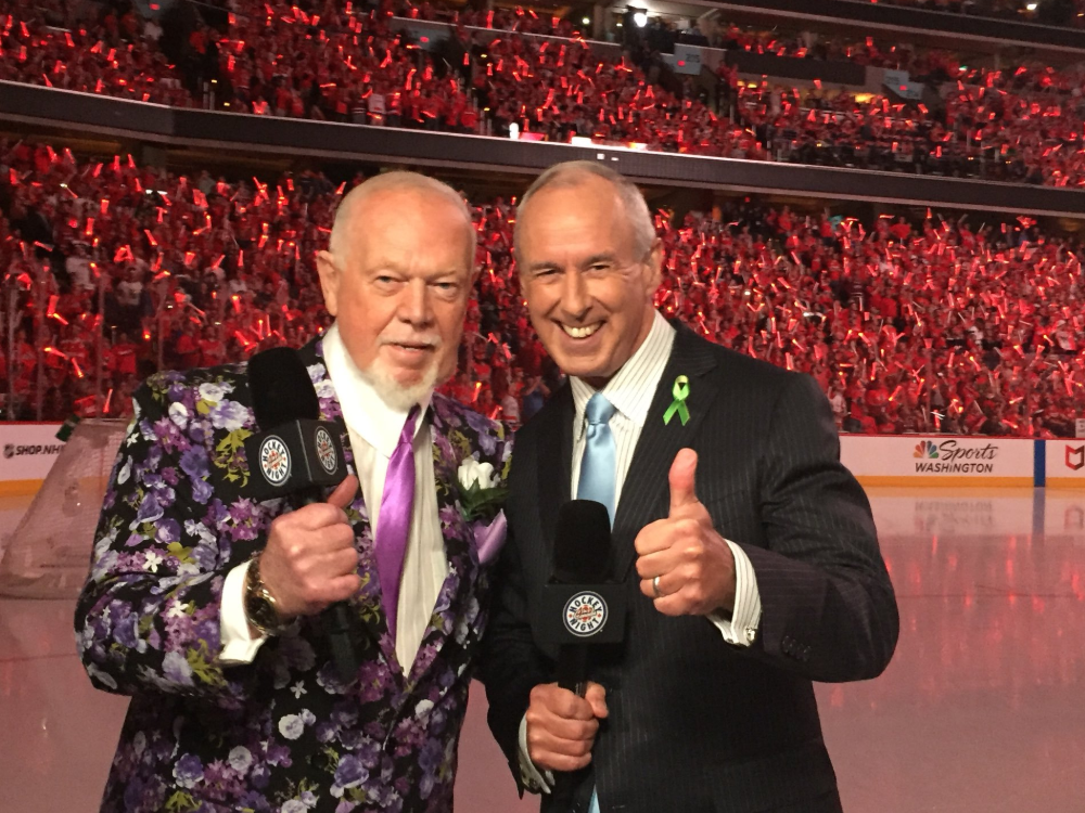 Don Cherry Sports Commentator