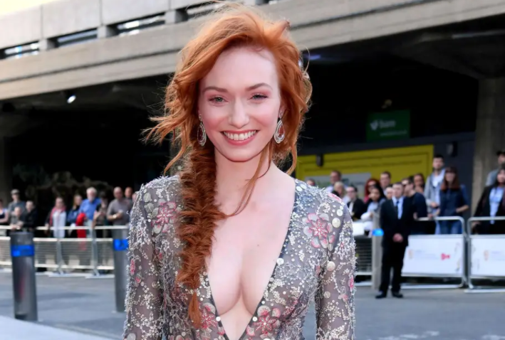 Eleanor Tomlinson, a famous actress
