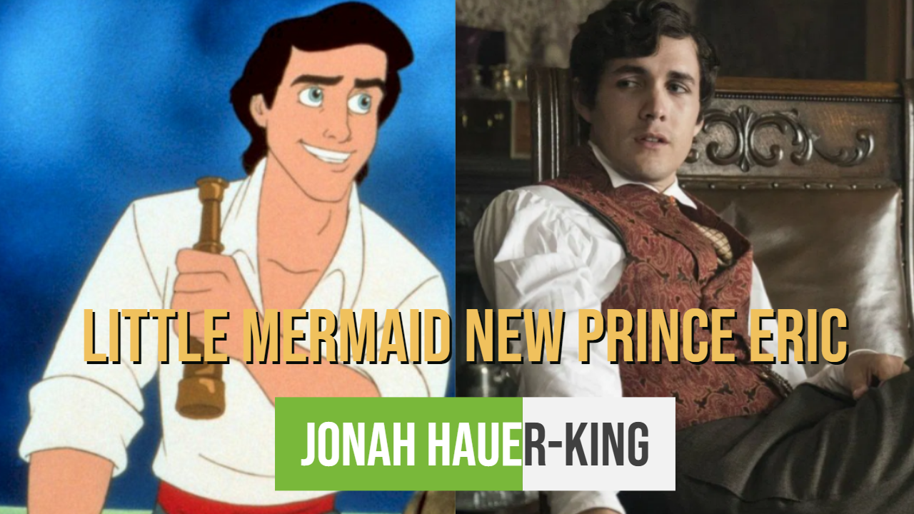 Little Mermaid New Prince Eric