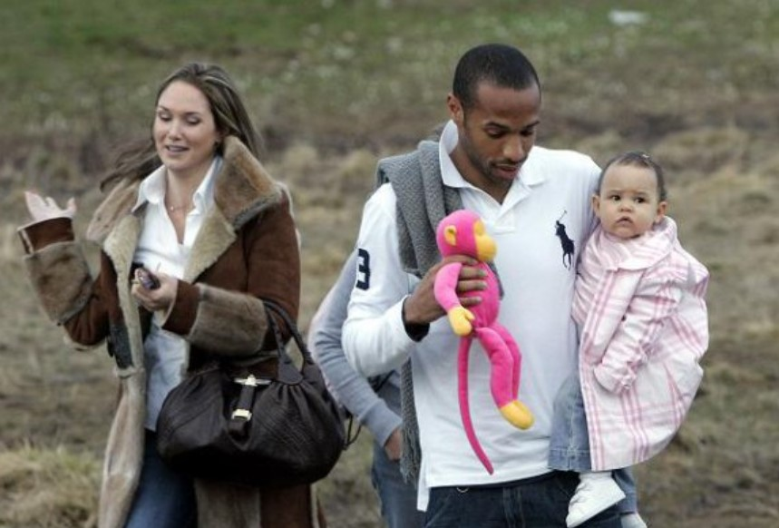 Thierry Henry family