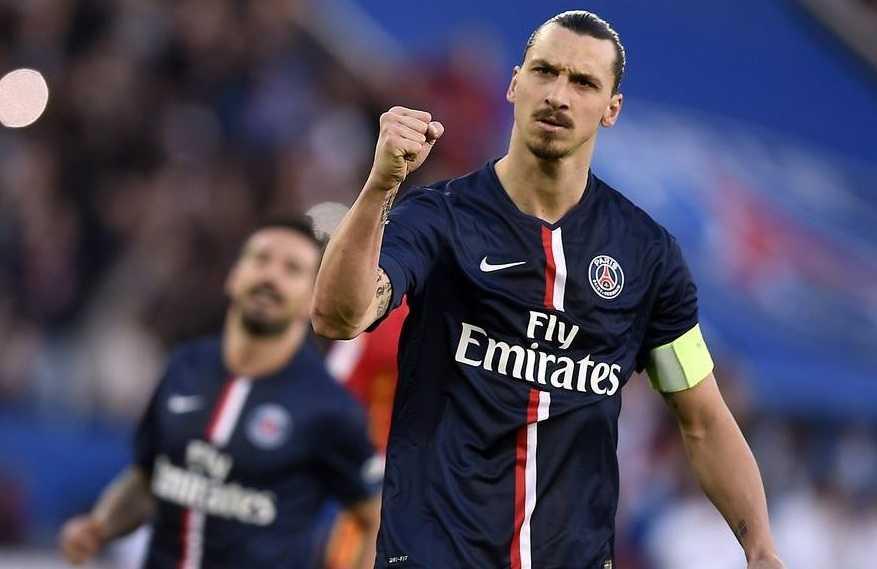 Zlatan Ibrahimovic PSG