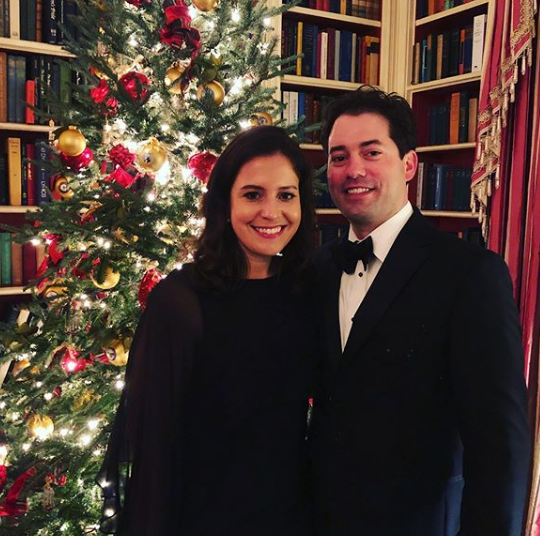 Elise Stefanik Christmas at White House