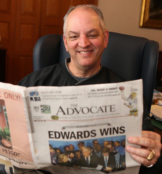 John Bel Edwards Governor of Louisiana