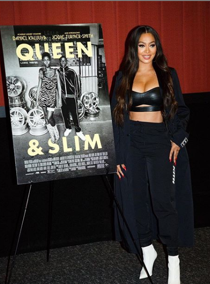 La La Anthony Hosting a screening of Queen and Slim