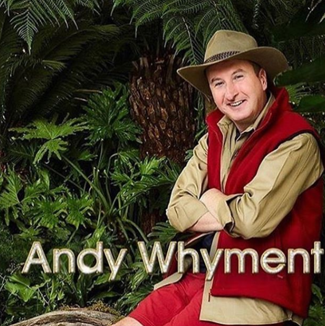 Andy Whyment I'm a Celebrity