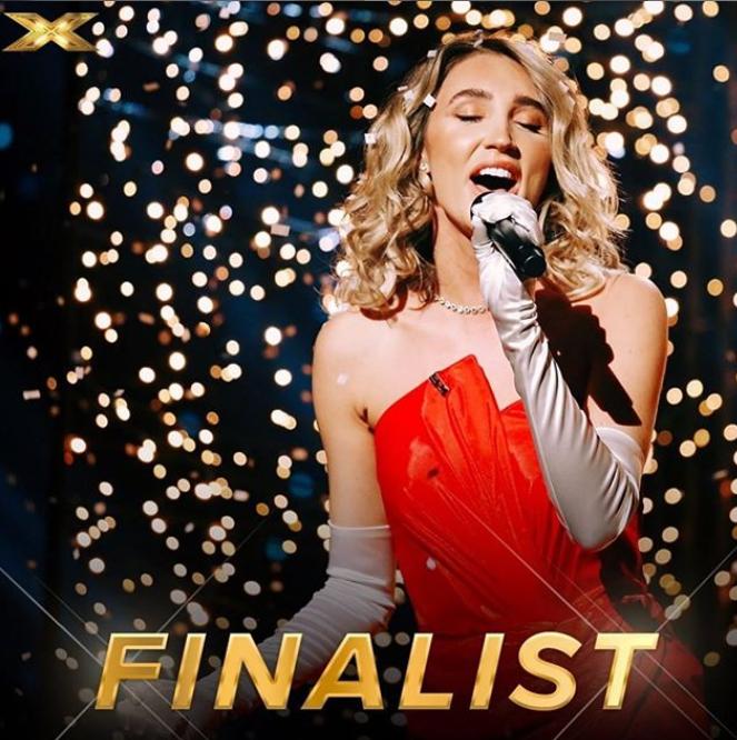 Megan McKenna X Factor Finalist