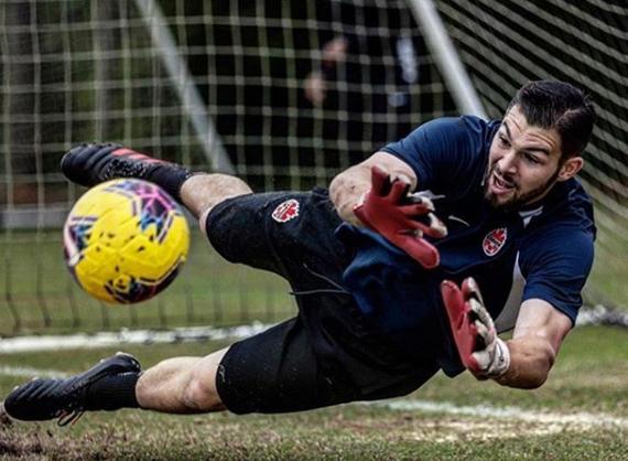 Maxime Saving The Ball