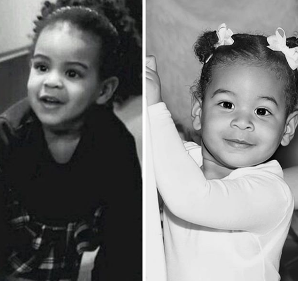 Blue Ivy Carter Childhood Picture