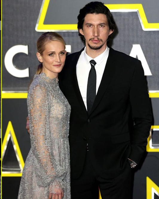 Joanne Tucker and Adam Driver Relationship 1