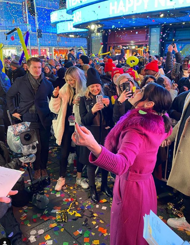 Lucy Hale Celebrating New Year 2020